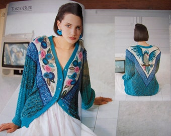 ANNY BLATT Special COUTURE women sweaters knitting patterns