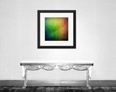 Colorful - Rainbow color Red Orange Yellow Green Blue Purple rainbow colors abstract Valentine day gift Fine Art Print 8x8