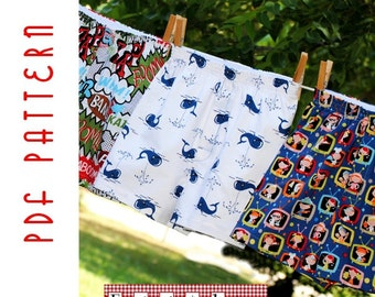 PDF Sewing Pattern: The Oh, Boy Boxers (Instant Download)