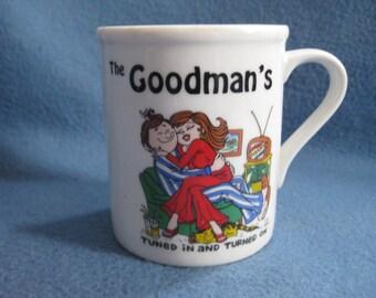 Vintage, 70s, The Goodman's, Mug
