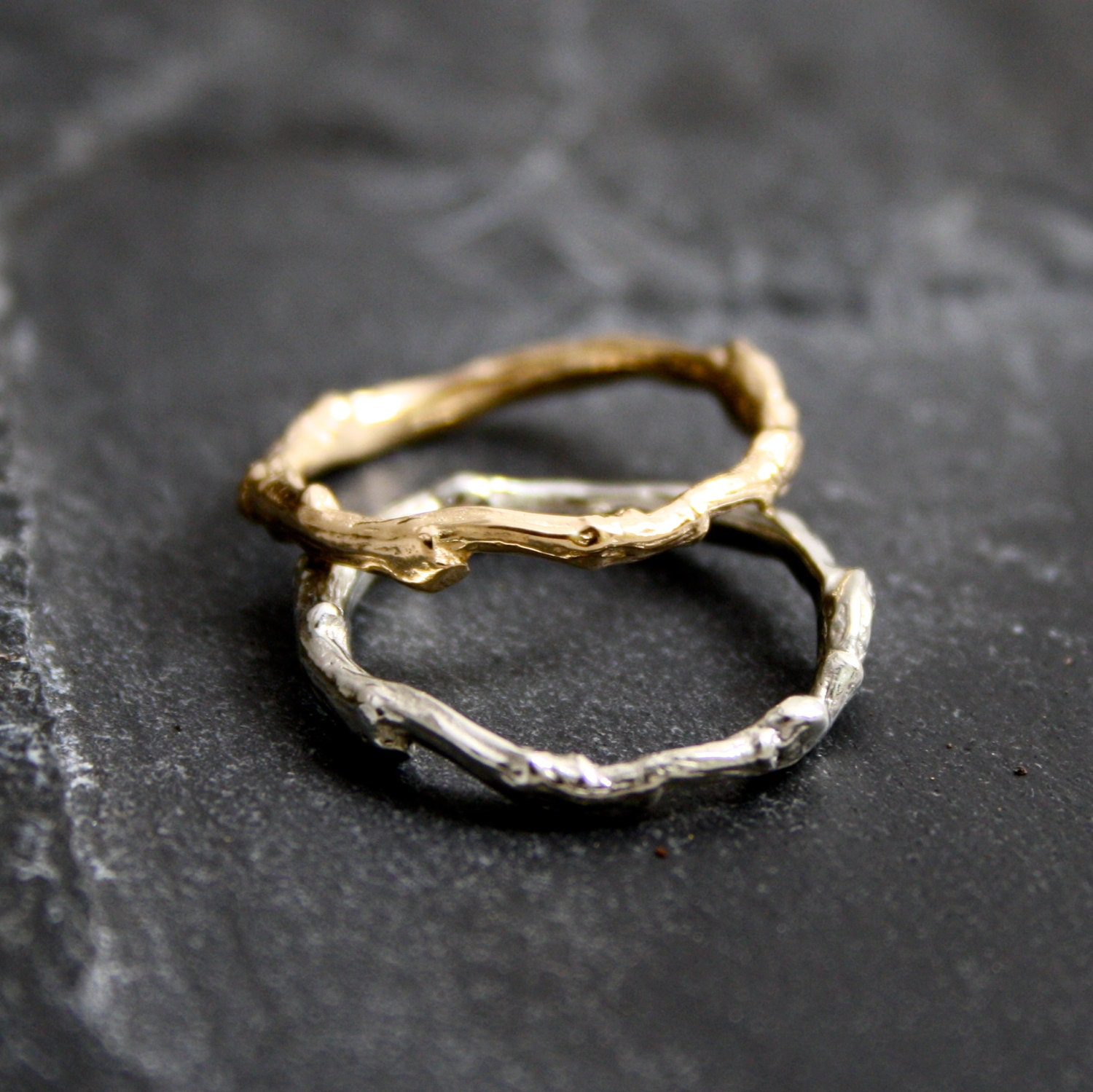 branch wedding ring lovely organic branch twig wedding band in 14kt yellow 2055