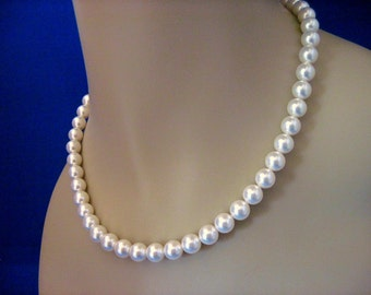 Wedding Jewelry Simplicity Pearl Bridal Necklace