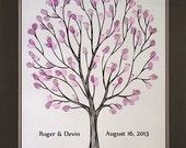 Tempo Wedding Thumbprint Tree for up to 175 Guests