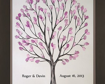 Tempo Wedding Thumbprint Tree for up to 200 Guests
