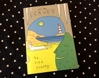 At The Caves Comic Zine by Lizz Lunney Humour