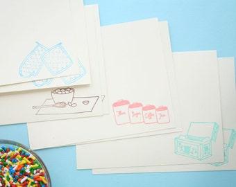 Confectioner's Baking Stationery Set