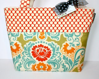 LARGE TOTE - DIAPER Bag - Spring is here