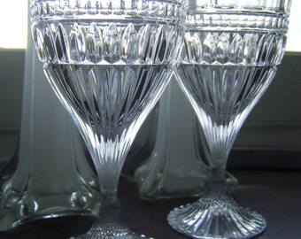 Gorgeous Crystal  Toasting  Glasses Set of 2