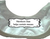 Newborn Cloth diaper Liner with gussets, stay-dry two-side contoured lay in insert for baby cloth diapers