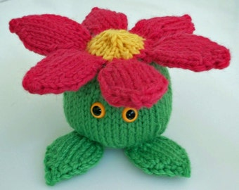 Flower Dude PDF Knitting Pattern