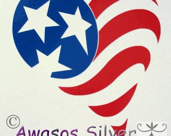 Heart of America decal
