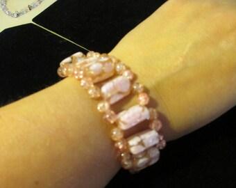 Bracelet - Pink Wide