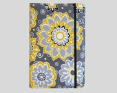 Kindle Cover Hardcover, Kindle Case, eReader, Kobo, Kindle Voyage, Kindle Fire HD 6 7, Kindle Paperwhite, Nook GlowLight Yellow and Grey