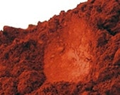 Red Iron Oxide Powder 1 Oz or 4 Oz - Red Soap Colorant, Red Soap Dye, Red Cosmetic Supplies, Red Soap Color