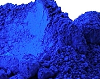 Blue Soap Color Pigment Powder 1 Oz or 4 Oz Cosmetic Supplies, Soap Supplies, Blue Mica Powder. Ultramarine Blue Pigment, Dark Blue Mica