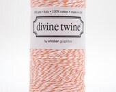 Full Spool - 240 Yards - Orange - Mango - Baker's Twine