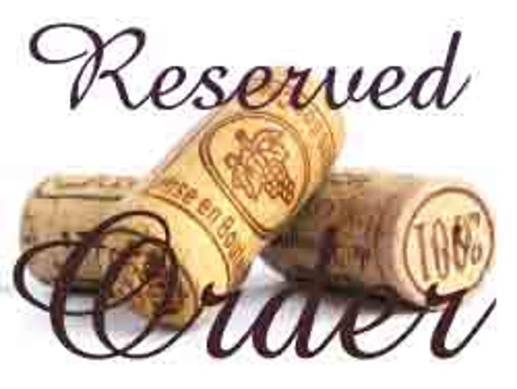 Reserved order for TMcMahon 3 Wine cork decorative trees