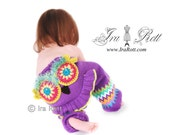 Funky Butts Knitted Owl Pants READY to SHIP