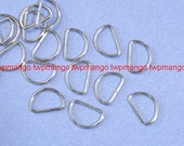 "100 5/8"" Dee Rings For Webbing Strapping Metal D Rings H107"