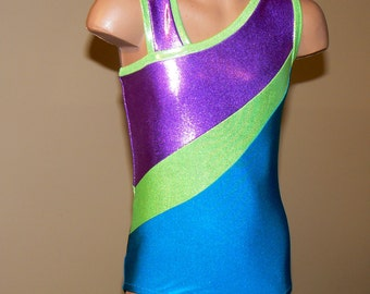 Gymnastics Dance Leotard Inspired by American Girl Doll McKenna. Size  2T - Girls 12