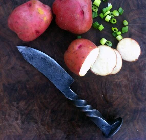 Railroad Tie Knife