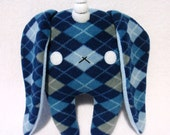 Bunicorn in Blue Argyle