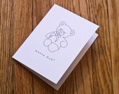 Printable Greeting Card - Wanna F%ck