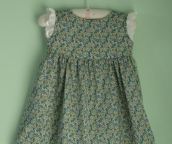 Beautiful liberty lawn dress to suit an 18 month old little girl