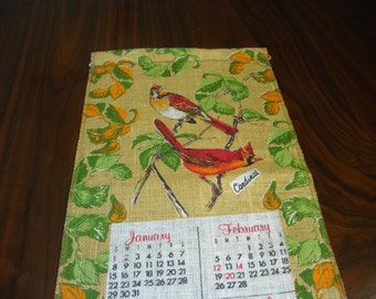 1978 Wall Hanging Calendar
