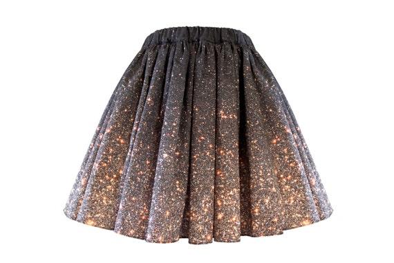 Stardust Galaxy Ombre Skirt - Short