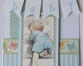 Free Shipping on Graphic 45 Little Darlings Vintage Inspired Baby Card