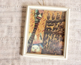 Vintage Wall Hanging- Tribal Illusion