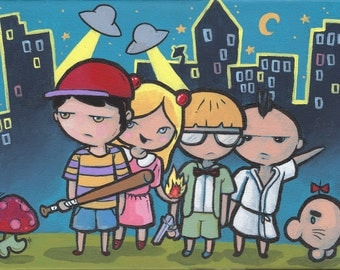 Earthbound - high quality print 9x11