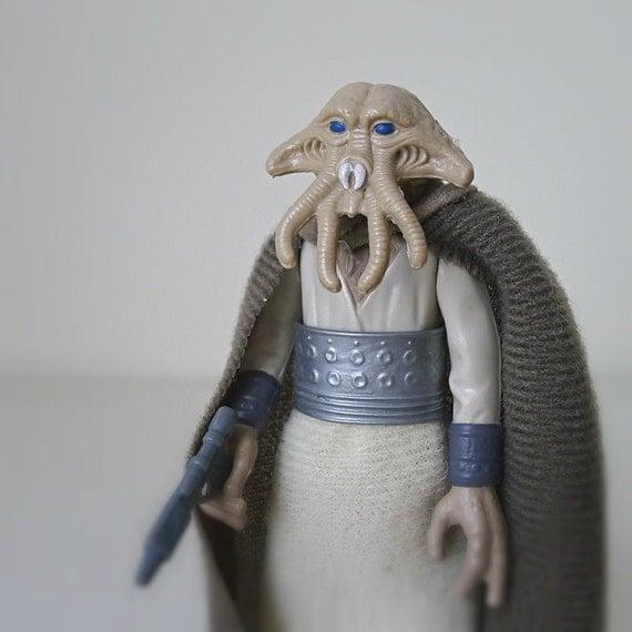 Star Wars 80s Toys : Star wars figure squid head kenner action
