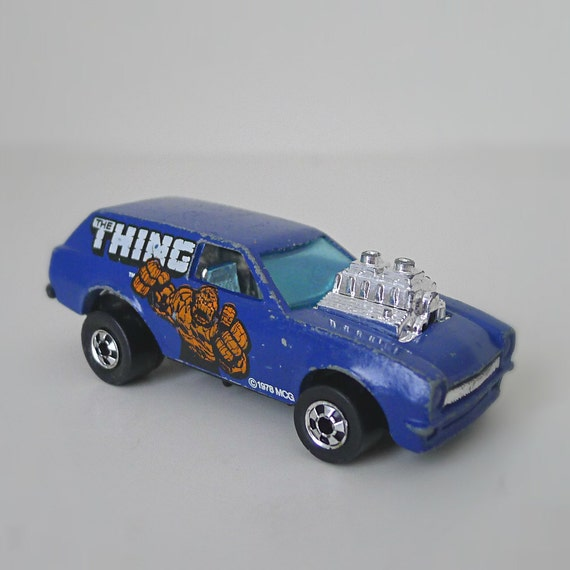 Vintage Hot Wheels Toy Car 1970s Poison Pinto The THING