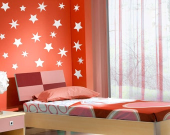 Children's Stars Wall Stickers