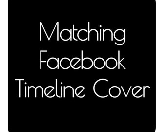 Made To Match Facebook Timeline Cover