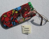 Padded Eyeglass / Sunglass Case - MARVEL Comics Colorful Print Eyeglass Case specially for Kids or Young at Heart