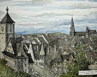 Freiburg, Germany overlook