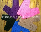 Fingerless Gloves  For the family