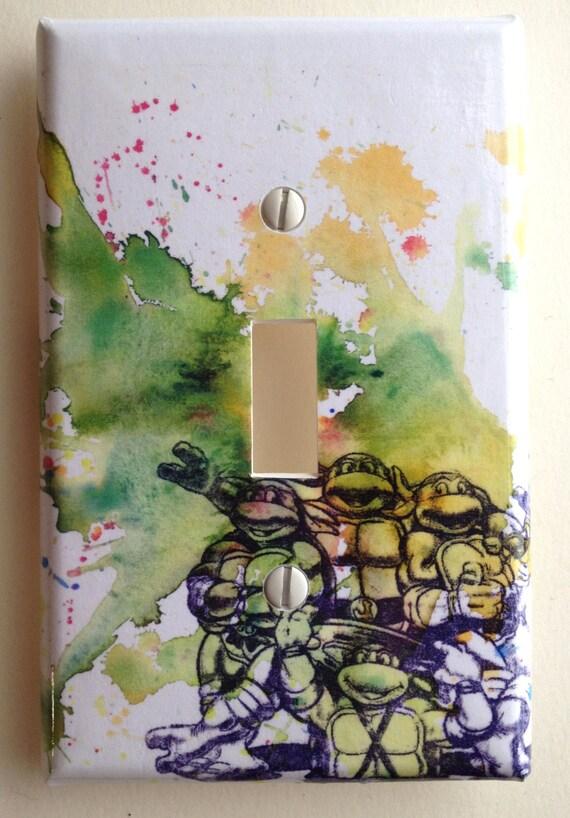 Teenage Mutant Ninja Turtles Decorative Light Switch Cover