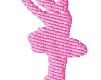Ballerina Mini Machine Embroidery Design