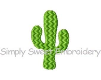 Cactus Mini Machine Embroidery Design
