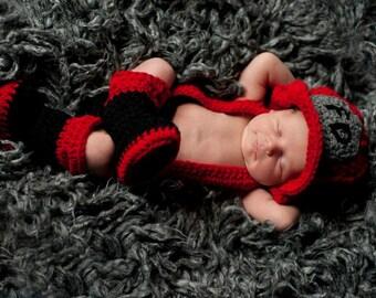 Little Fireman Crochet Pattern