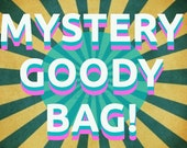 MYSTERY Goody Bag with Original Artwork Art Prints Buttons and More