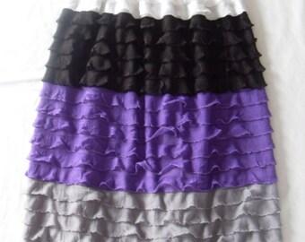 Ruffle Fabric Maxi Skirt - PDF PATTERN