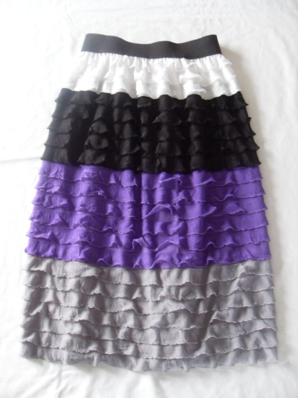 ruffle fabric maxi skirt pdf pattern by sumossweetstuff on