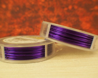 Orchid Artistic Wire - Permanently Colored - You Pick Gauge 18, 20, 22, 24, 26, 28 – 100% Guarantee