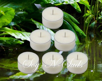 RAINFOREST Soy Tea Light Candles
