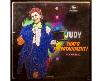 Glittered Judy Garland That's Entertainment Album